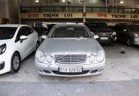 Bán xe Mercedes E200 Kompressor 2004, màu bạc, giá cạnh tranh giá 390 triệu tại Tp.HCM