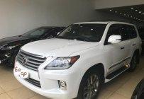 Bán Lexus LX 570 năm sản xuất 2014, màu trắng, nhập khẩu giá 4 tỷ 968 tr tại Hà Nội