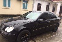 Bán ô tô Mercedes C200 đời 2001, màu đen, nhập khẩu nguyên chiếc, xe gia đình giá 179 triệu tại Nam Định