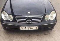 Cần bán gấp Mercedes C240 đời 2003, màu đen, nhập khẩu giá 225 triệu tại Tp.HCM