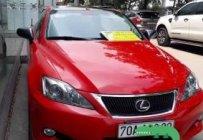 Bán ô tô Lexus IS năm 2009, màu đỏ, nhập khẩu giá 1 tỷ 100 tr tại Tp.HCM