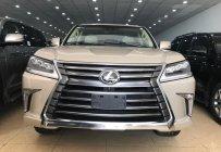 Bán ô tô Lexus LX570 xe Mỹ, sản xuất 2018 vàng cát mới 100% giá 9 tỷ 100 tr tại Hà Nội