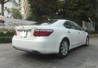 Bán Lexus LS 460L sản xuất năm 2006, màu trắng, bản full options giá 1 tỷ 80 tr tại Hà Nội
