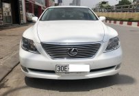 Cần bán Lexus LS 460L 2007, màu trắng, xe nhập giá 1 tỷ 75 tr tại Hà Nội