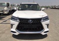 Bán Lexus LX570 Super Sport Trung Đông trắng nội thất da bò 2018 giá 9 tỷ 350 tr tại Hà Nội