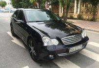 Cần bán lại xe Mercedes C180 năm 2005, màu đen như mới, giá 288tr giá 288 triệu tại Hà Nội