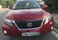 Bán Lexus RX 350 đời 2010, màu đỏ, xe nhập chính chủ giá 1 tỷ 720 tr tại Hà Nội