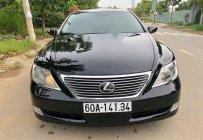 Cần bán Lexus LS 460 năm 2007, màu đen, nhập khẩu số tự động giá 1 tỷ 240 tr tại Đồng Nai