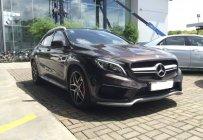 Bán xe Mercedes Benz GLA45 AMG 4Matic Turbo, màu nâu sản xuất 2015, đăng ký cuối 12/2015. Biển Hà Nội giá 1 tỷ 650 tr tại Hà Nội