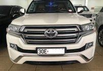 Bán Toyota Land Cruiser GXR máy dầu, màu trắng nội thất nâu da bò, xe xuất Trung Đông, sản xuất 216 đăng ký 2017 tên cty giá 5 tỷ 90 tr tại Hà Nội