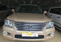 Cần bán lại xe Lexus LX 570 sản xuất 2010, màu vàng, nhập khẩu nguyên chiếc giá 2 tỷ 980 tr tại Hà Nội