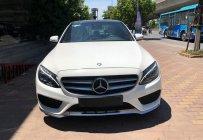 Bán Mercedes C250 AMG đời 2015, màu trắng  giá 1 tỷ 420 tr tại Hà Nội