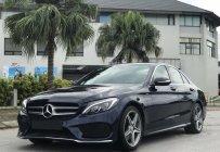 Cần bán Mercedes C250 AMG đời 2016, màu xanh lam giá 1 tỷ 450 tr tại Hà Nội