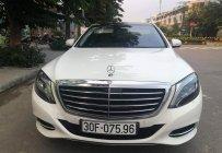 Bán Mercedes S400 sx 2016 màu trắng, nội thất kem giá 3 tỷ 379 tr tại Hà Nội