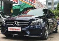 Chính chủ bán Mercedes C 250 AMG đời 2015, màu xanh lam giá 1 tỷ 439 tr tại Hà Nội