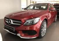 Chính chủ bán xe Mercedes C300 năm 2018, màu đỏ giá 1 tỷ 840 tr tại Hà Nội