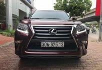 Bán Lexus GX460 Luxury xe sản xuất 2015 ĐK 2015 chính chủ từ đầu, màu đỏ mận giá 4 tỷ 350 tr tại Hà Nội
