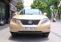 Bán Lexus RX 350  3.5 AT sản xuất năm 2009, màu vàng giá 1 tỷ 579 tr tại Hà Nội
