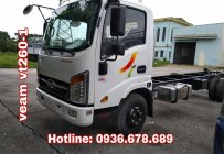 Bán xe tải Veam VT260-1,động cơ Isuzu,thùng dài 6m,tải 1.95 tấn,giá rẻ nhất giá 455 triệu tại Hà Nội