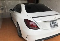 Bán xe Mercedes C300 AMG sản xuất 2017, màu trắng   giá 1 tỷ 650 tr tại Cà Mau