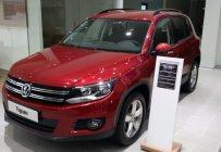 Bán ô tô Volkswagen Tiguan sản xuất năm 2018, màu đỏ, nhập khẩu nguyên chiếc, có sẵn giao ngay giá 1 tỷ 699 tr tại Quảng Bình