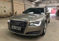 Bán Audi A8 sản xuất năm 2011, màu vàng, nhập khẩu nguyên chiếc chính chủ giá 2 tỷ 200 tr tại Hà Nội