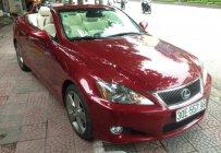 Cần bán lại xe Lexus IS 250C sx 2009 moden 2010, đăng ký lần đầu tháng 12/2009, màu đỏ nhập khẩu giá 1 tỷ 230 tr tại Hà Nội