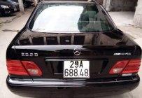 Bán ô tô Mercedes sản xuất năm 1997, màu đen, giá chỉ 135 triệu giá 135 triệu tại Hà Nội