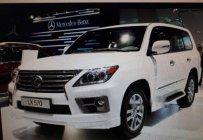 Bán Lexus LX 570 sản xuất 2008, màu trắng, xe đã qua sử dụng, động cơ tốt, chạy êm giá 2 tỷ 600 tr tại Tp.HCM