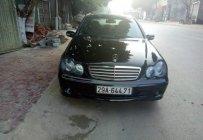 Cần bán Mercedes C200 2004, màu đen số tự động, giá 265tr giá 265 triệu tại Sơn La