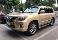 Cần bán Lexus LX 570 sx 2009, lên form 2015, màu ghi vàng, nhập Mỹ giá 2 tỷ 890 tr tại Hà Nội