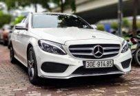 Bán Mercedes C300 sản xuất 2015, màu trắng, nội thất đỏ gạch giá 1 tỷ 550 tr tại Hà Nội