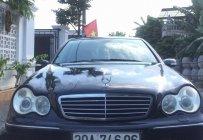 Bán xe Mercedes C240 đời 2005, màu đen giá 265 triệu tại Hải Phòng