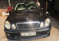 Bán Mercedes E63 AMG 2006, màu đen, nhập khẩu số tự động giá 700 triệu tại Tiền Giang