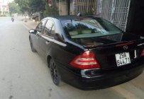 Cần bán lại xe Mercedes C180 đời 2004, màu đen, nhập khẩu  giá 265 triệu tại Sơn La