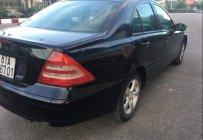 Cần bán lại xe Mercedes C200 đời 2001, màu đen, nhập khẩu nguyên chiếc giá 169 triệu tại Gia Lai