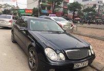 Bán Mercedes E240 2004, màu đen, nhập khẩu giá 295 triệu tại Hà Nội