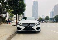 Mercedes C200 đời 2017 màu trắng/kem, đẹp xuất sắc giá 1 tỷ 350 tr tại Hà Nội