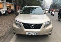 Bán Lexus RX350 2011 màu vàng giá 1 tỷ 850 tr tại Hà Nội