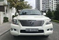 Bán ô tô Lexus LX 570 đời 2011, màu trắng nhập khẩu, biển Hà Nội - Tứ quí giá 3 tỷ 250 tr tại Hà Nội
