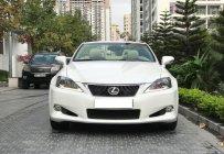 Cần bán xe Lexus IS 250C đời 2012, màu trắng, nhập khẩu nguyên chiếc giá 1 tỷ 450 tr tại Hà Nội