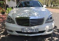 Cần bán Mercedes-Benz S350 năm 2007 màu trắng, 690 triệu, bản 4 ghế chỉnh điện giá 690 triệu tại Tp.HCM