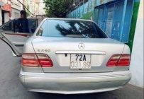 Bán xe Mercedes E240 năm sản xuất 2002, màu bạc, nhập khẩu giá 160 triệu tại Tp.HCM