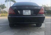 Bán ô tô Mercedes C180 sản xuất 2004, màu đen, nhập khẩu, 4 túi khí giá 205 triệu tại Đà Nẵng