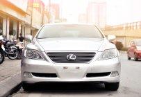 Bán ô tô Lexus LS 460L model 2008, màu bạc, nhập khẩu nguyên chiếc giá 1 tỷ 175 tr tại Hà Nội