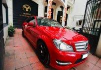 Bán Mercedes C300 AMG năm sản xuất 2013, màu đỏ, nhập khẩu giá 808 triệu tại Hà Nội