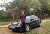 Gia đình bán xe Mercedes C180 đời 2002, màu đen giá 200 triệu tại Hà Nội