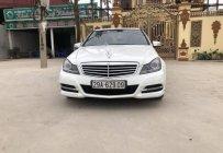 Bán Mercedes C250 đời 2012, màu trắng, xe nhập   giá 710 triệu tại Hà Nội