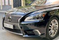 Bán Lexus LS460L sản xuất 2007 lên model 2016 màu đen nội thất đỏ giá 1 tỷ 690 tr tại Tp.HCM