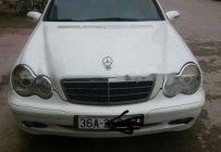 Cần bán Mercedes C180 đời 2002, màu trắng, nhập khẩu nguyên chiếc giá 175 triệu tại Thanh Hóa